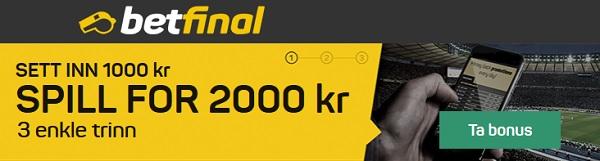 Bookmakere med odds på Eliteserien i fotball 2018